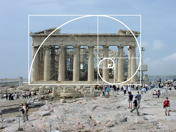 Is the Parthenon designed after the Golden Ratio? NOPE!