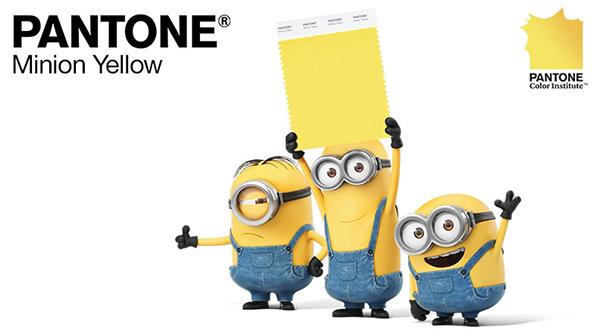 Pantone Minion Yellow poster
