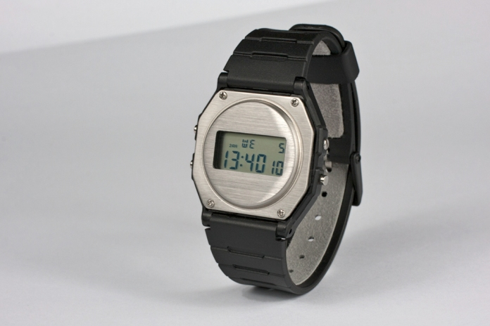Casio F-91W Rework - Steel Black