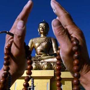 The Buddha Dordenma statue in Thimphu