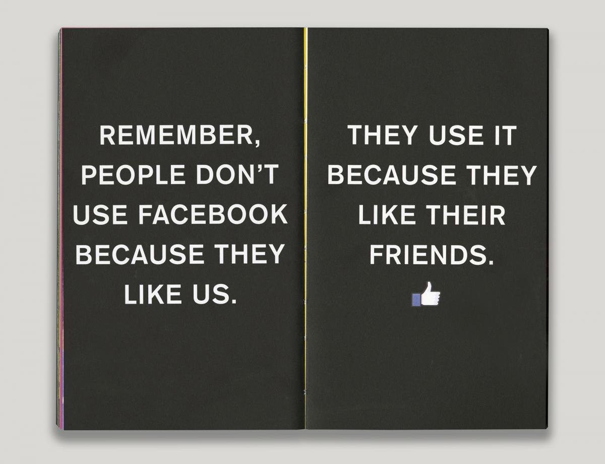 Facebook's Little Red Book