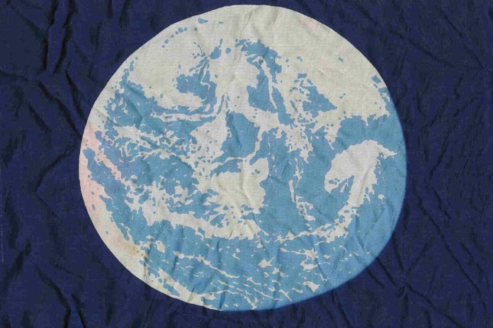 John McConnell's Earth flag