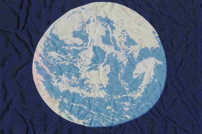 John McConnell's Earth flag