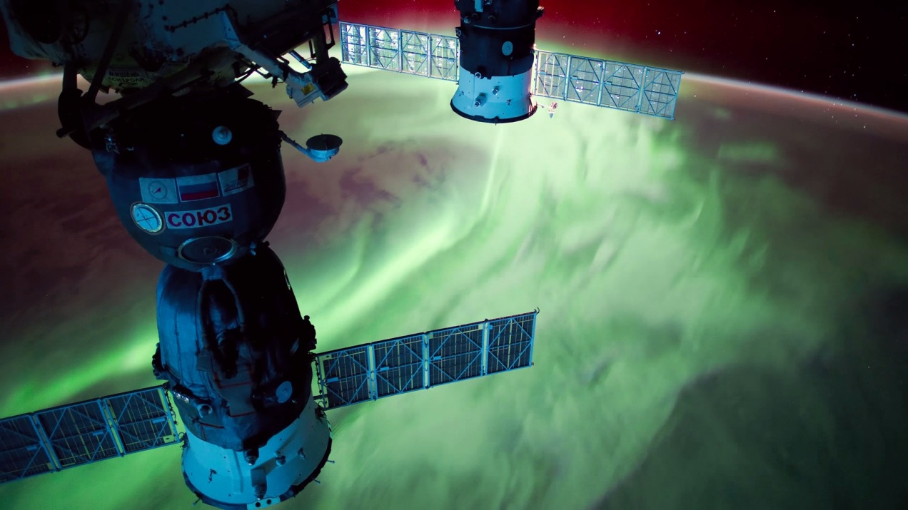 Dmitry Pisanko ISS timelapse
