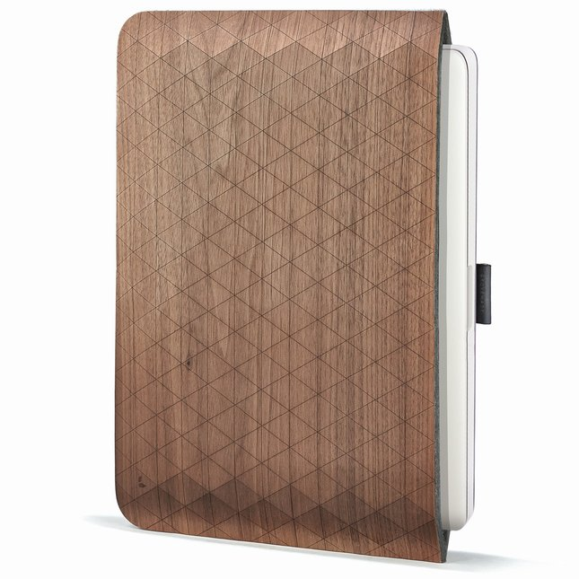 Grovemade iPad walnut sleeve