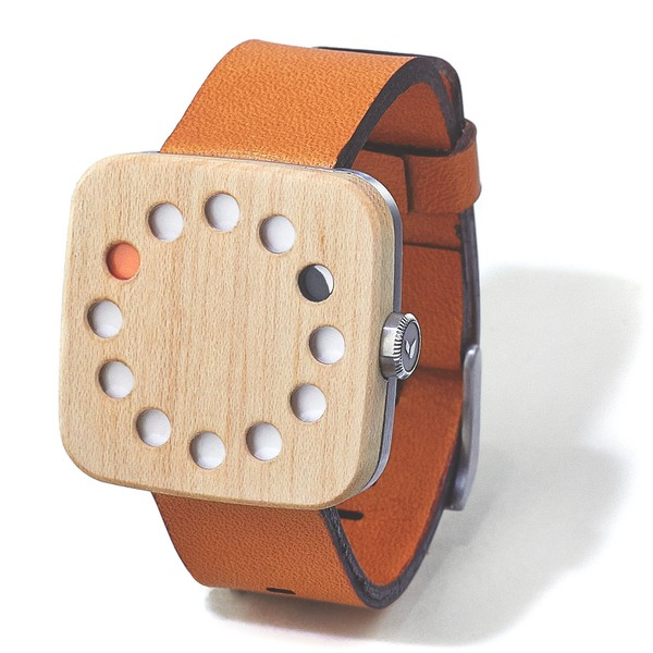 Grovemade maple watch square