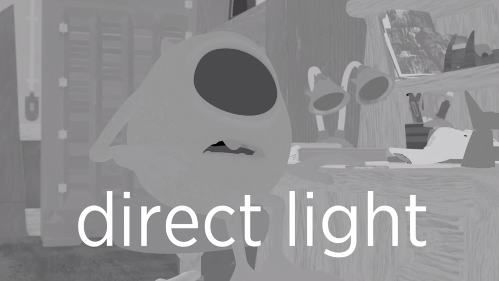 Mike Wazowski - direct light