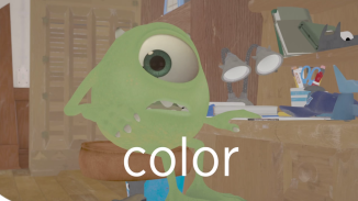 Mike Wazowski - color