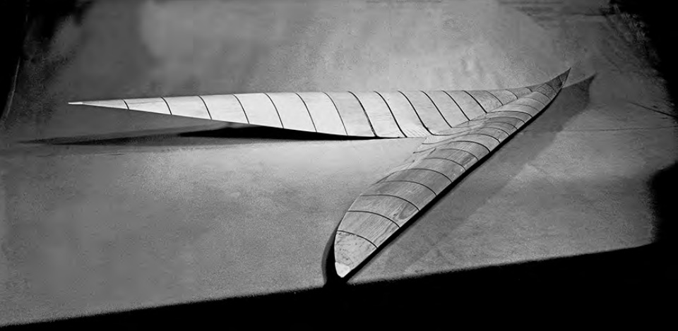 An Ames wind-tunnel model of a radical supersonic airplane configuration designed for efficient flight at Mach 3