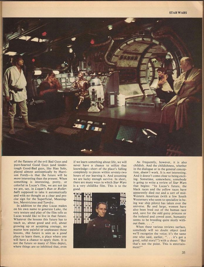 Samuel R. Delany's Star Wars review, page 3