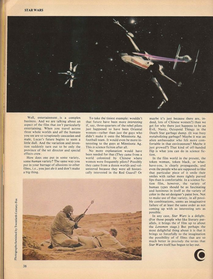 Samuel R. Delany's Star Wars review, page 4