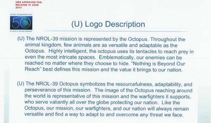 Description of the NRO octopus logo