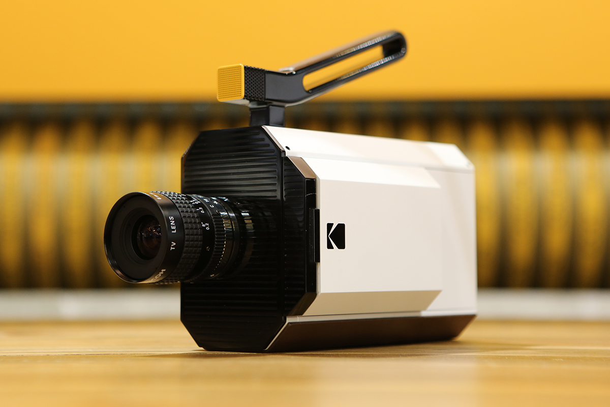 KODAK Super 8 Camera - white