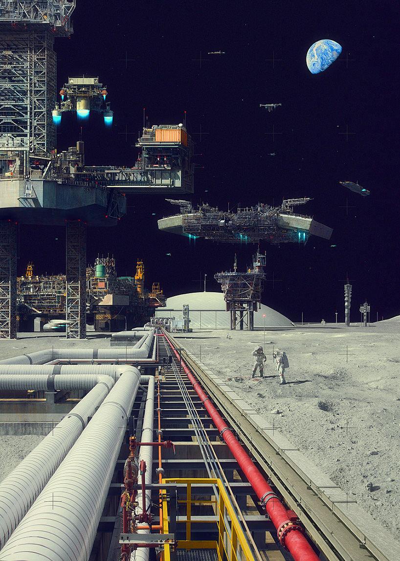 Evgeny Kazantsev -- Space City