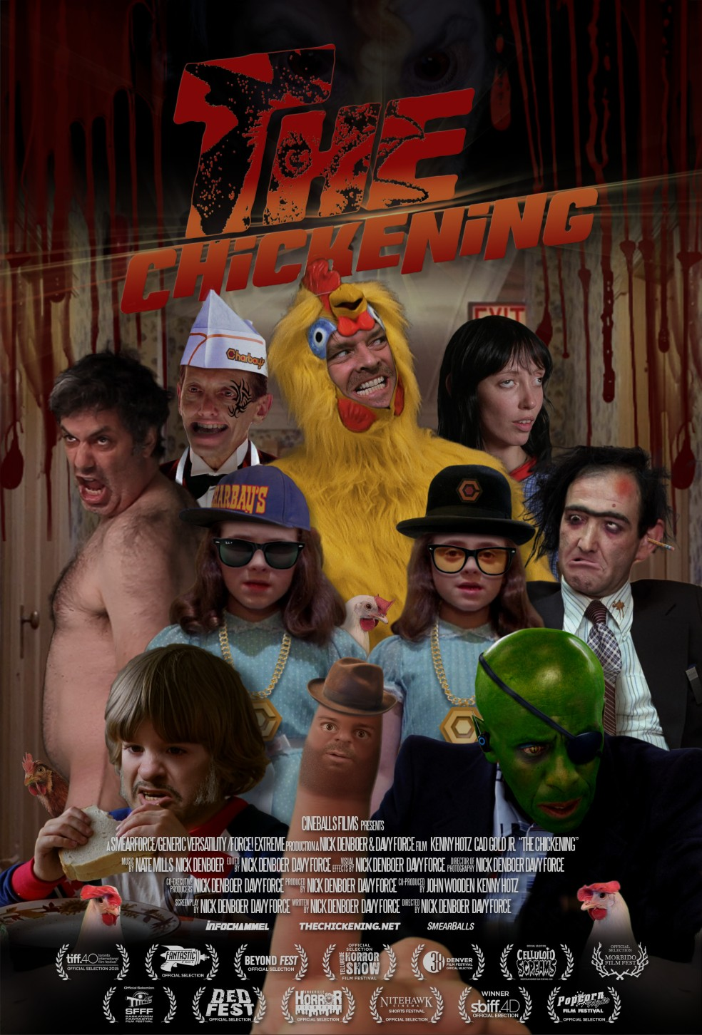 The Chickening poster