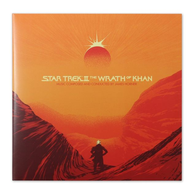 Wrath of Khan on vinyl - front
