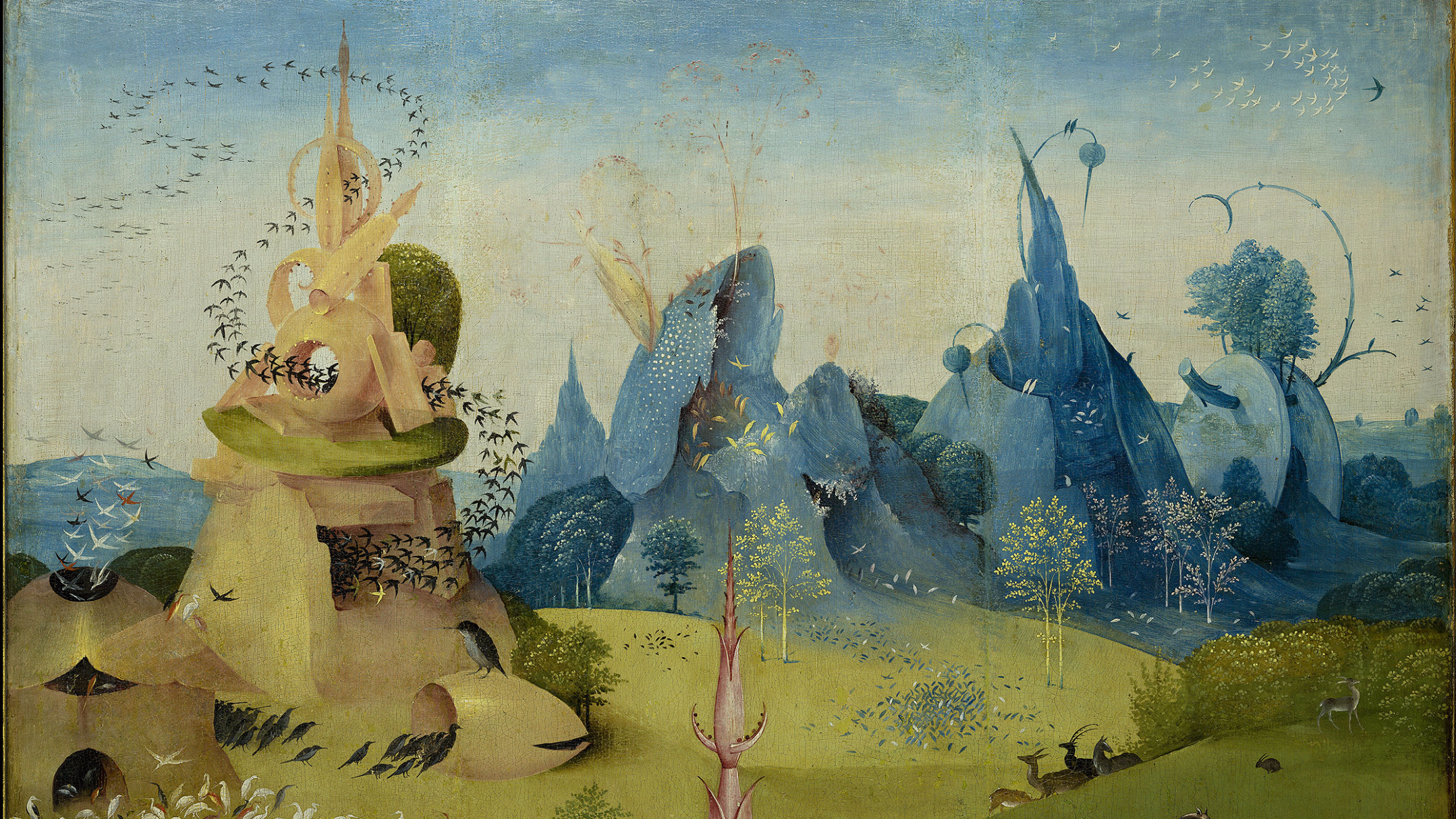 the nature of the garden of earthly delights We invite you to birdwatch in the garden of earthly delights, the masterpiece of hieronymus bosch.