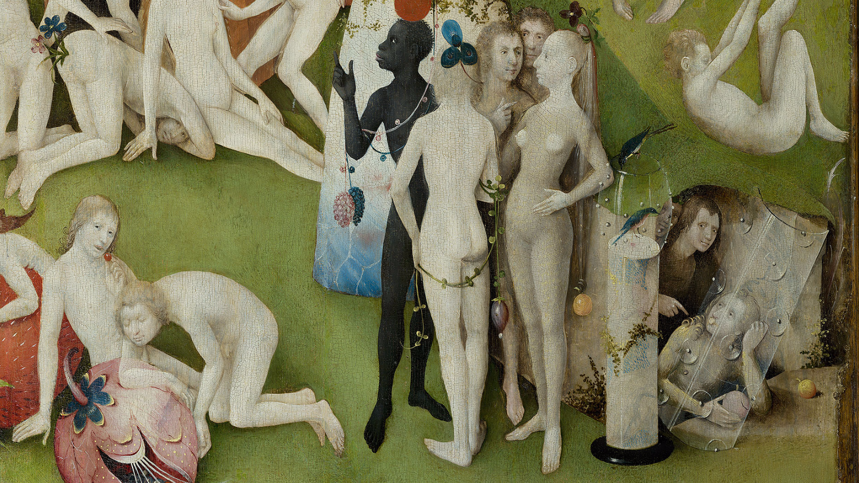 Explore 'The Garden of Earthly Delights' in high ...