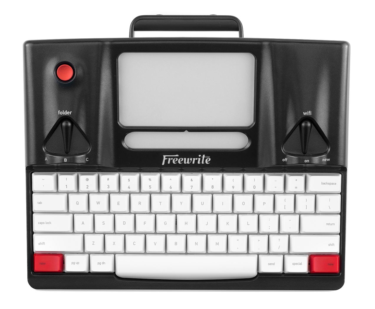 Astrohaus Freewrite - top