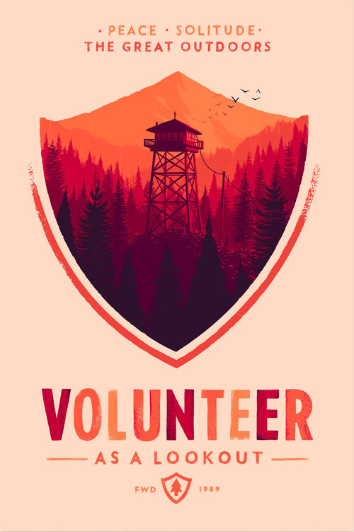 Olly Moss Firewatch 2