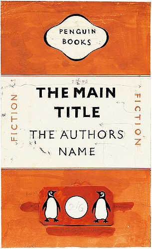 Experimental layouts for Penguin books, 1948