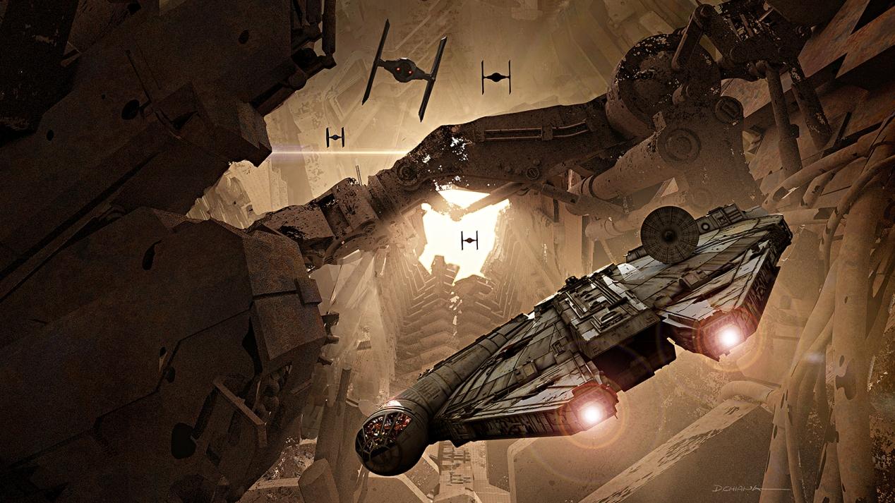ILM Force Awakens portfolio - Facon 3
