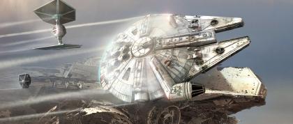 ILM Force Awakens portfolio - Falcon 2