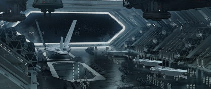 Star Destroyer hangar deck