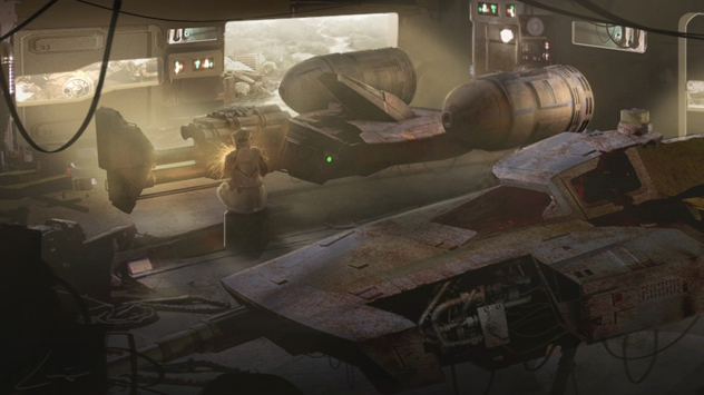 ILM Force Awakens portfolio - Jakku 2