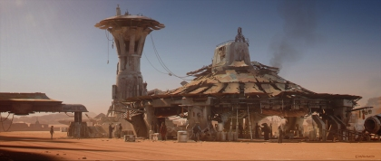 ILM Force Awakens portfolio - Jakku 5