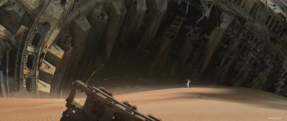 ILM Force Awakens portfolio - Jakku 6