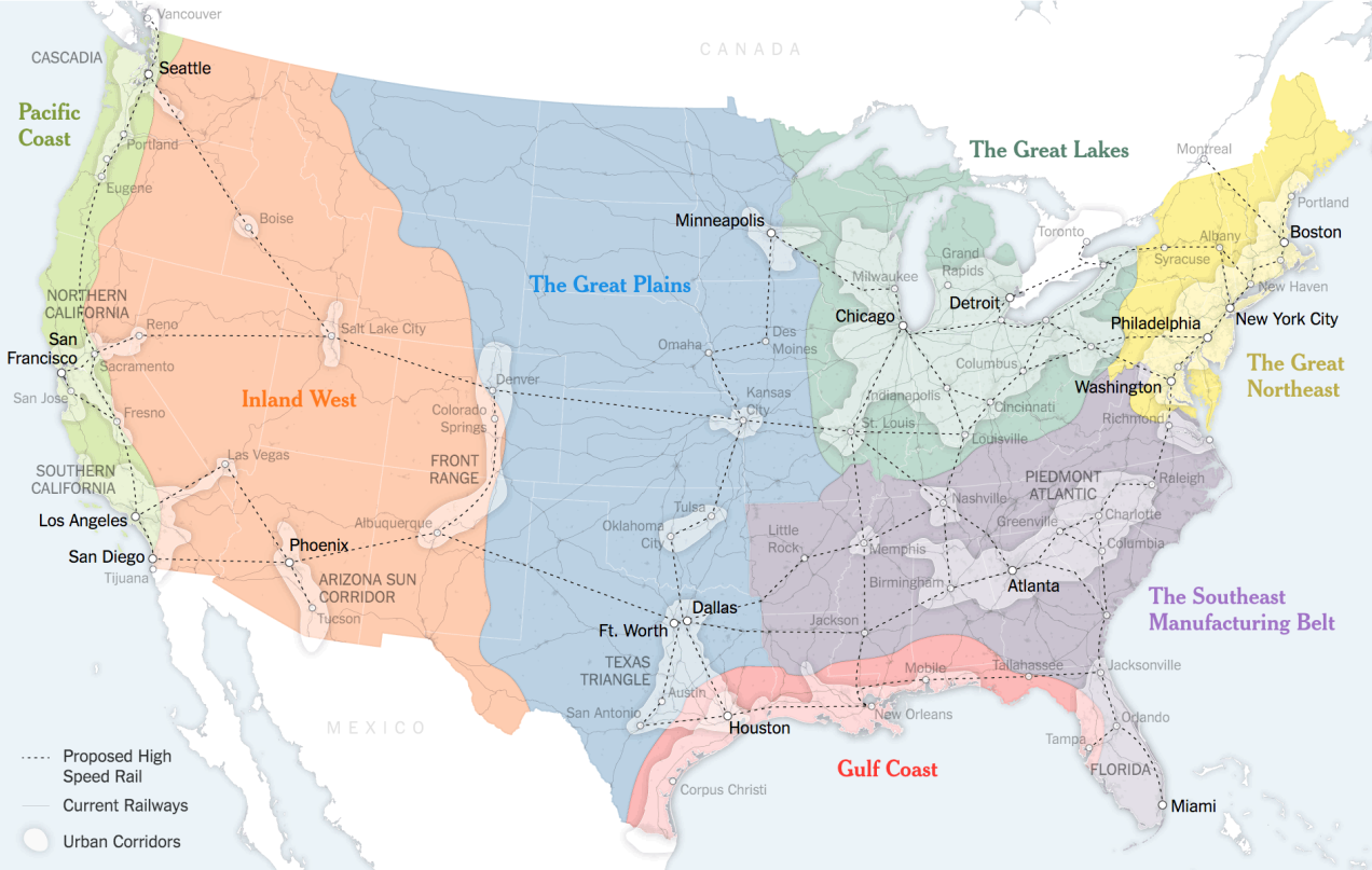 A New Map for America