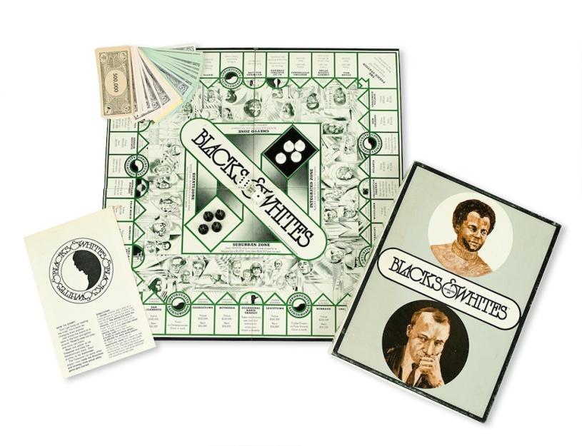 Blacks and Whites board game