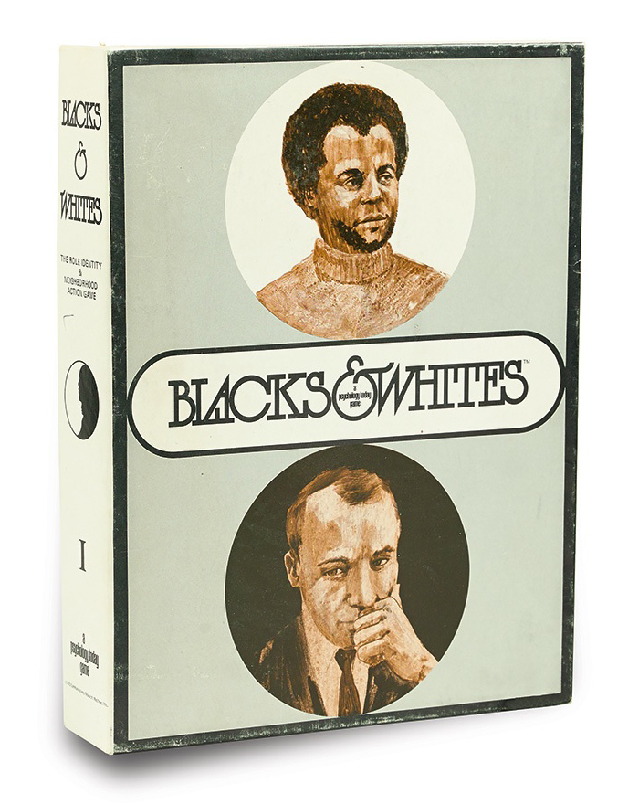 Blacks and Whites board game