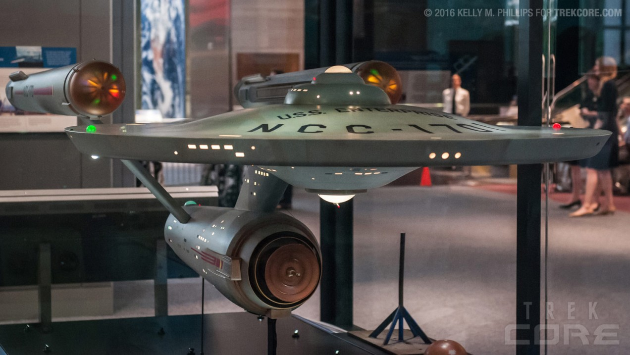 Enterprise back on display