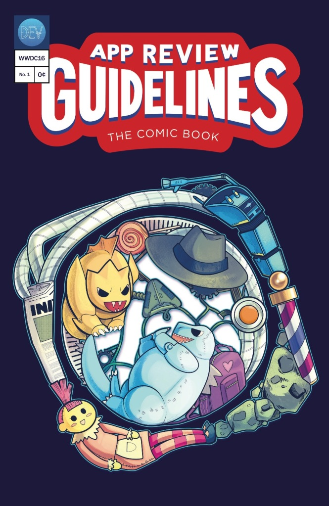 App Review Guidelines -- The Comic Book