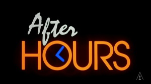 After Hours title design