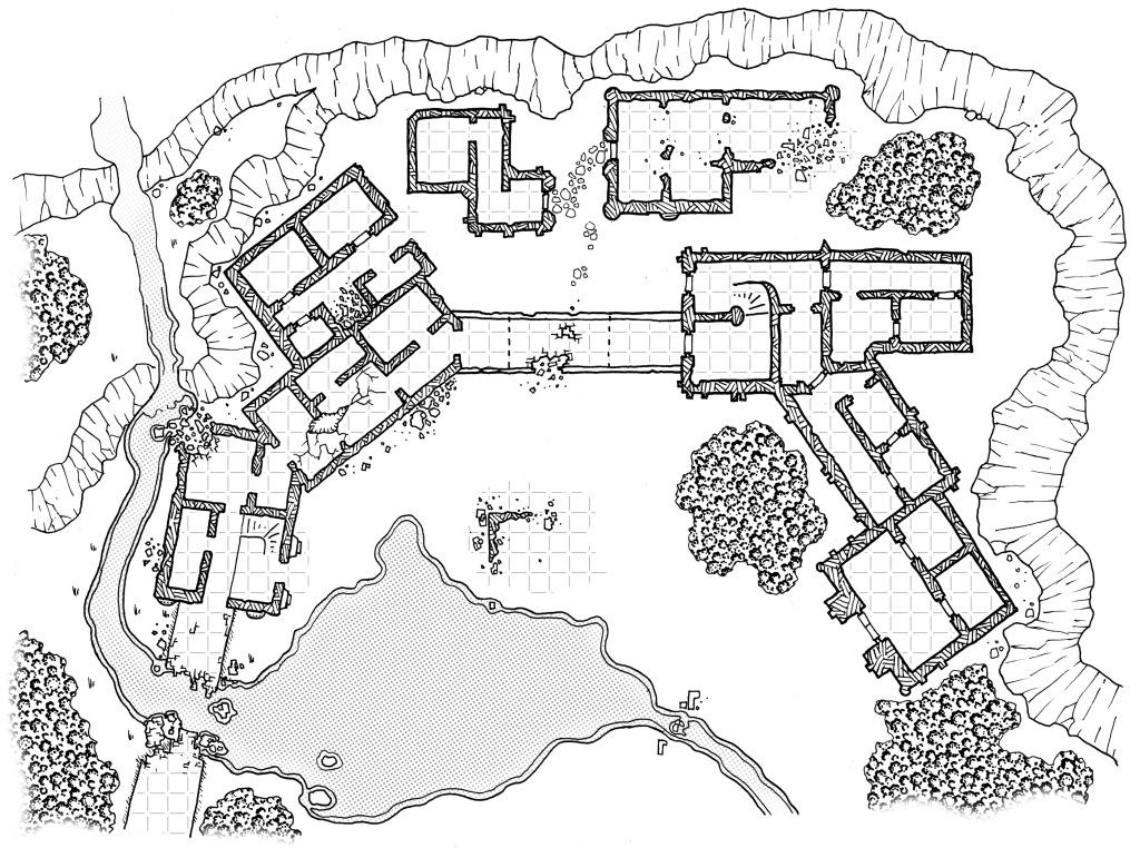Temple Complex Ruins