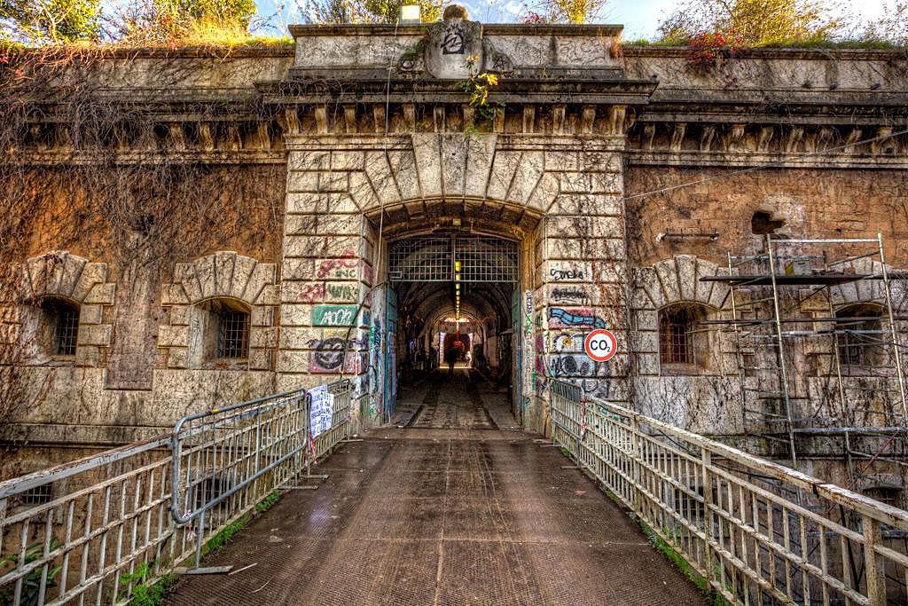 Forte Prenestino entrance