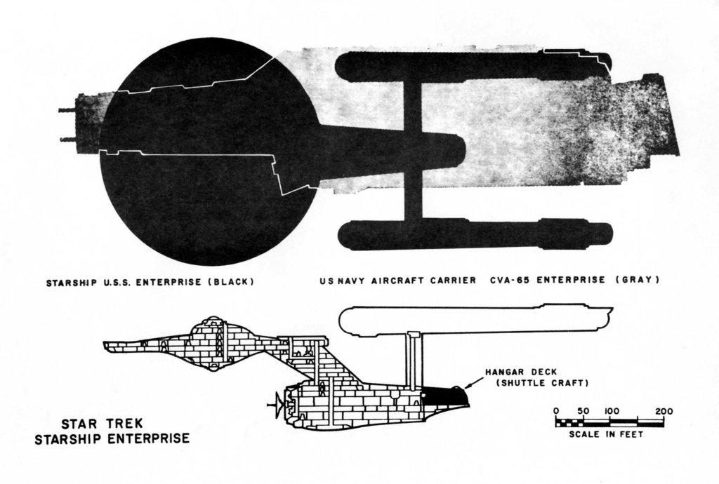 USS Enterprise Space Cruiser