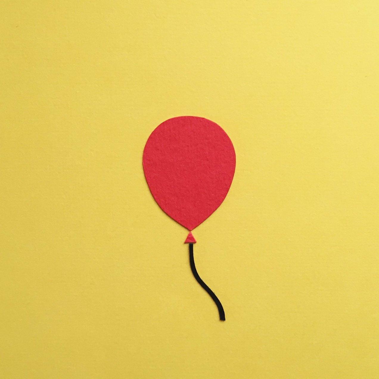 Paper emoji - balloon