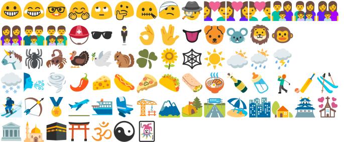 Noto color emoji