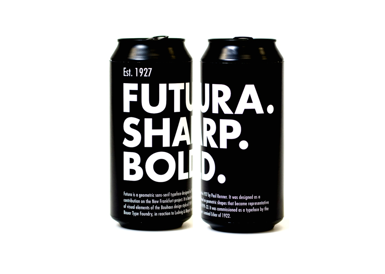 Futura beer by Alec Hughes