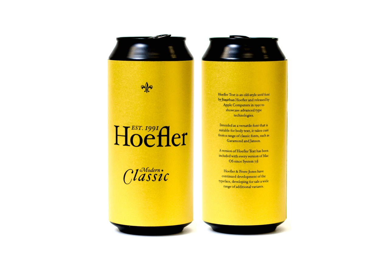 Hoefler beer by Alec Hughes