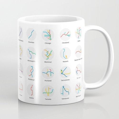 Mini Metro mug