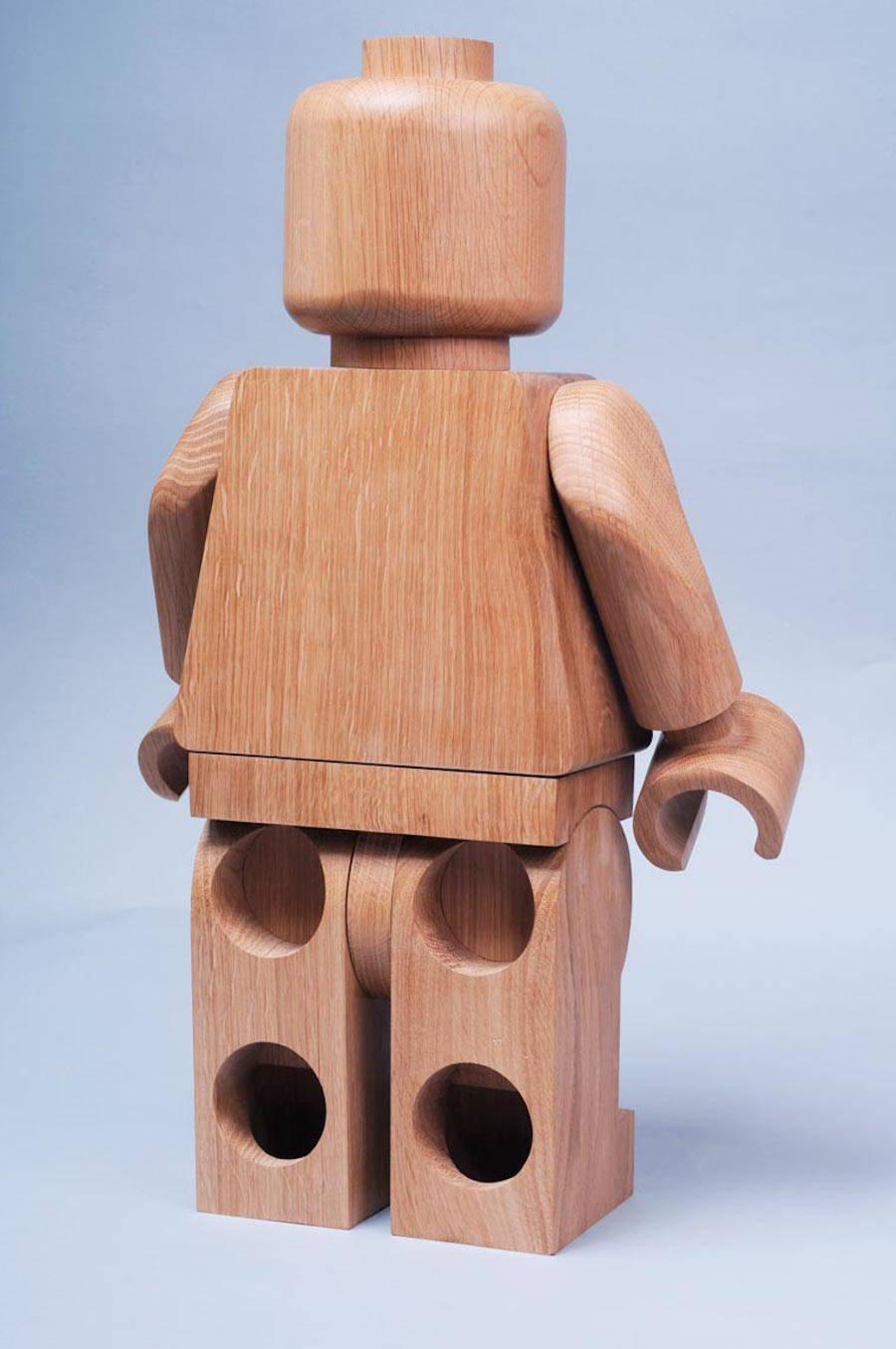 Wooden Lego