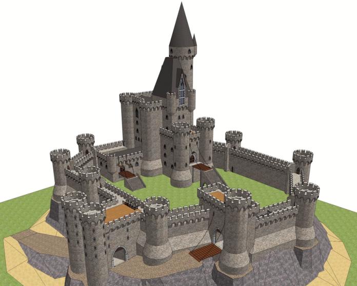 Honor Guard castle