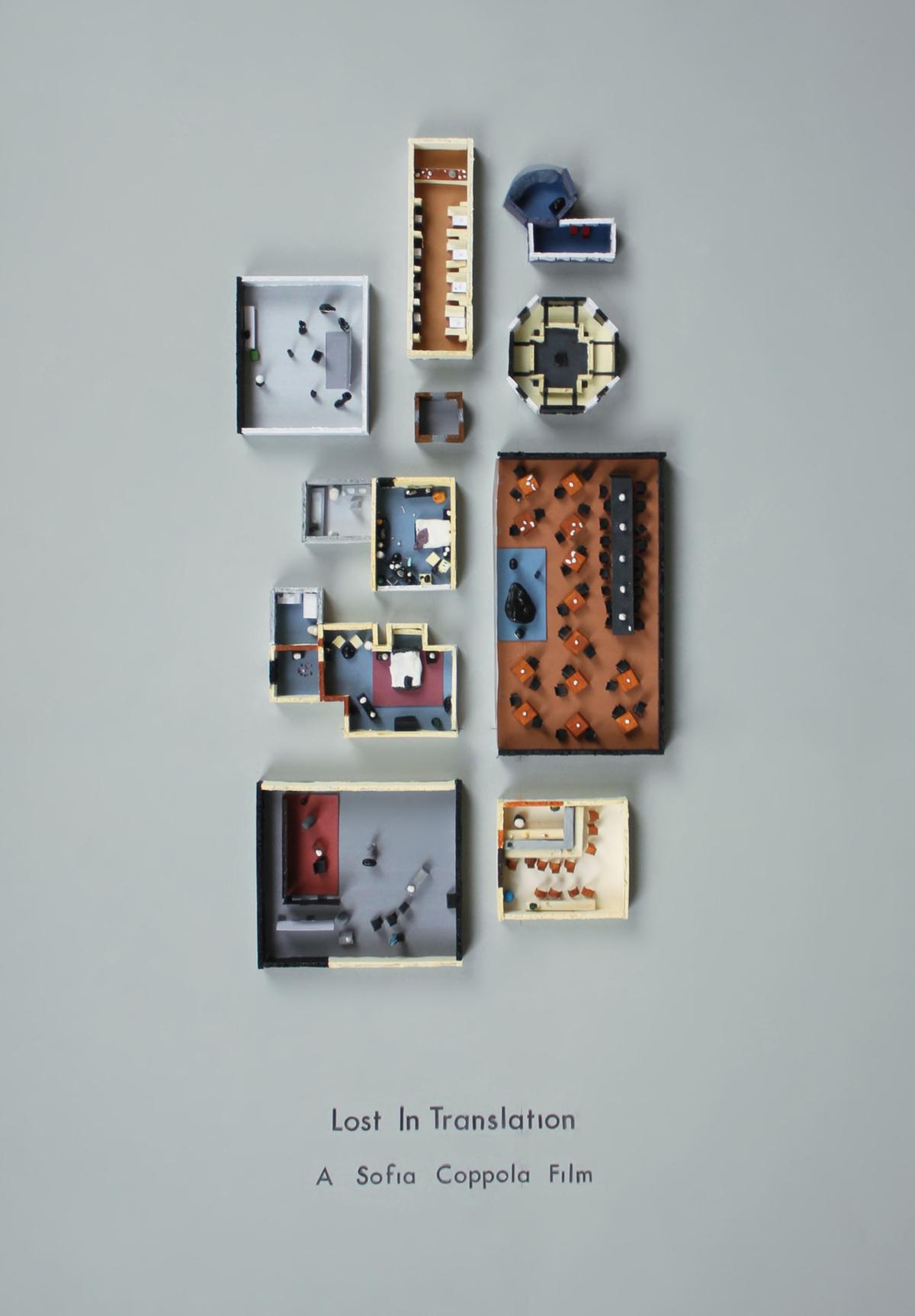 Lost in Translation poster by Jordan Bolton