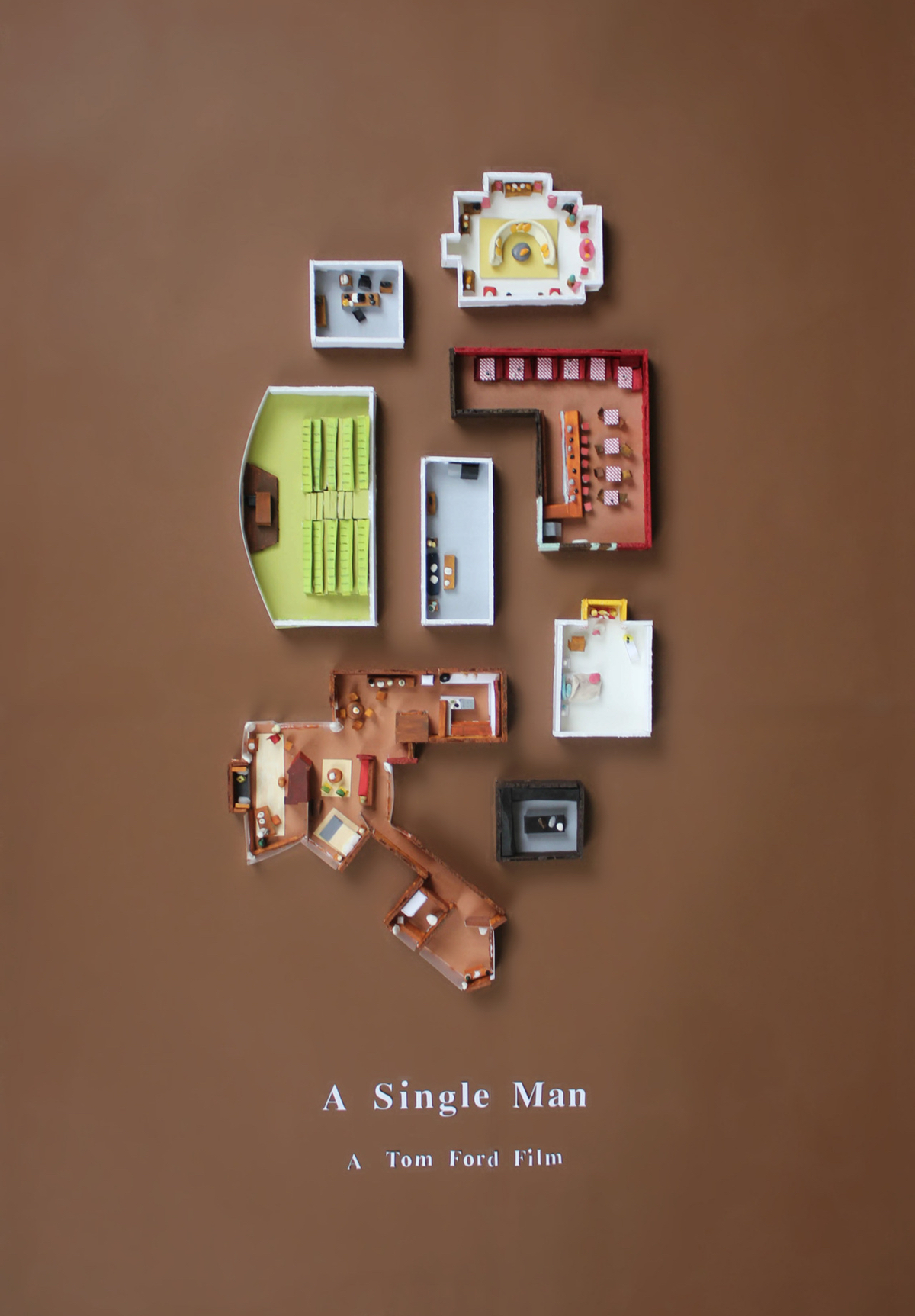 A Single Man poster by Jordan Bolton
