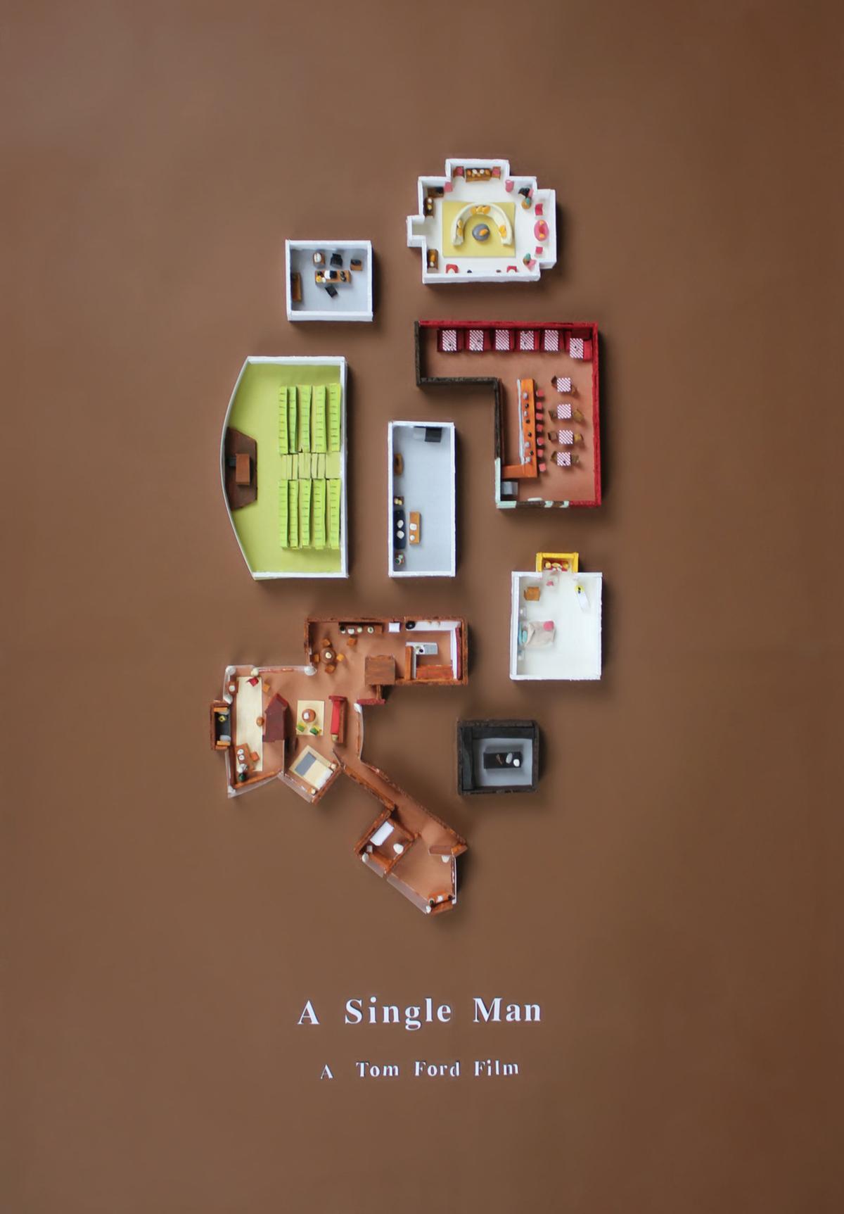 A Single Man poster by Jordan Bolton